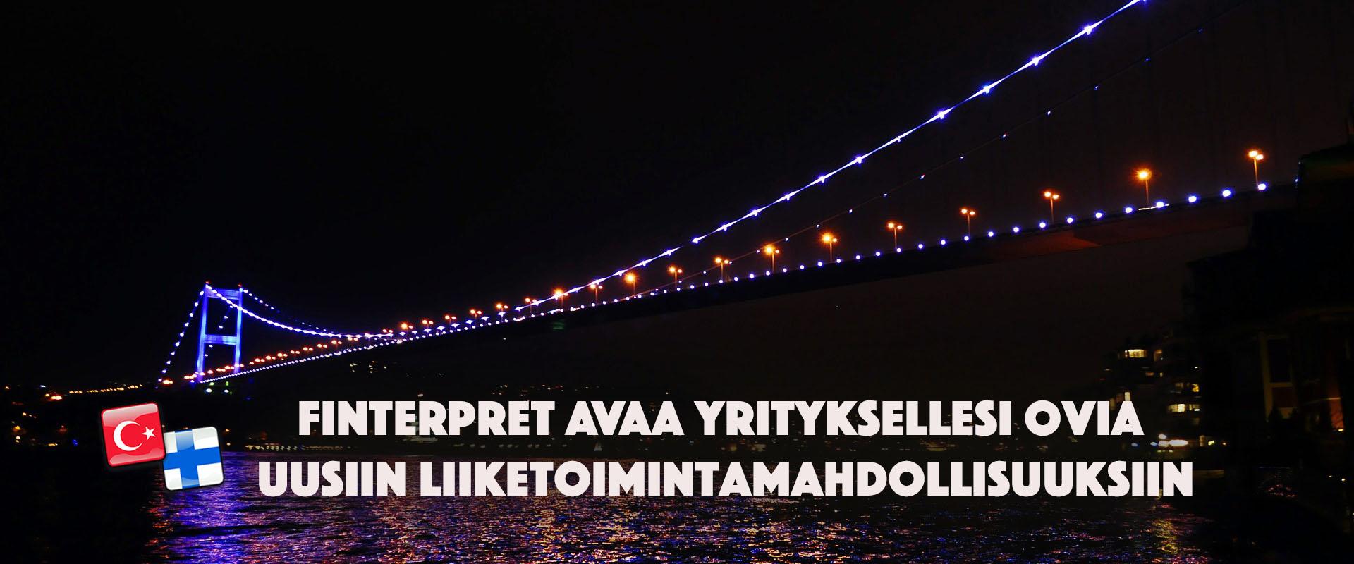 Finterpret - yritystoiminnan konsultointi ja turkin kielen käännöstyöt